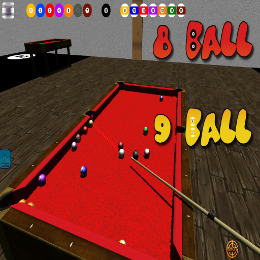 無料棋类游戏Appの3Dビリヤード8と9ボール|記事Game