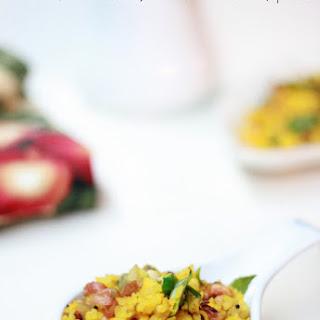 Kanda Poha Recipe | Aval Upma Recipe – Indian Breakfast