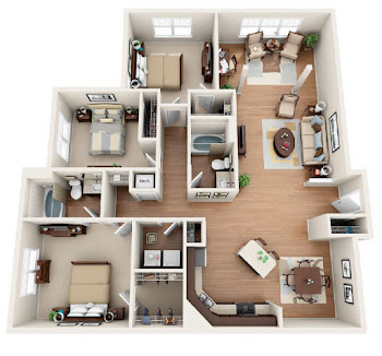 Go to The Clingman Floorplan page.