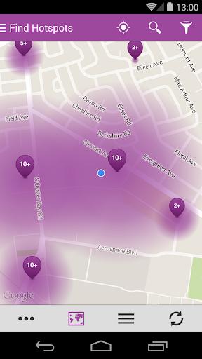 Optimum WiFi Hotspot Finder