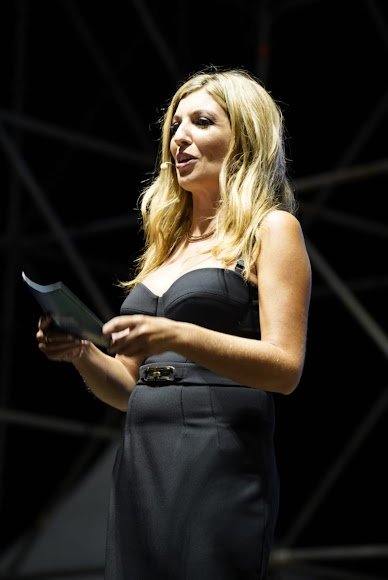 La periodista Mar Villalobos, en una de sus intervenciones.