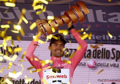 Team Sunweb maakt heuglijk nieuws bekend over Giro-winnaar Tom Dumoulin