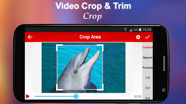 Crop and Trim Video