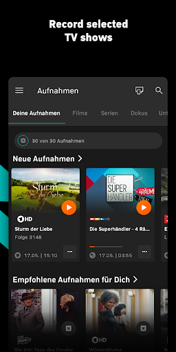 Zattoo - TV Streaming App  screenshots 4