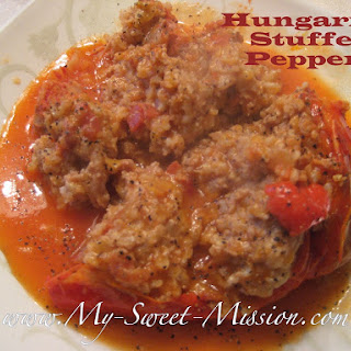 Hungarian Stuffed Peppers Tomato Sauce Recipes