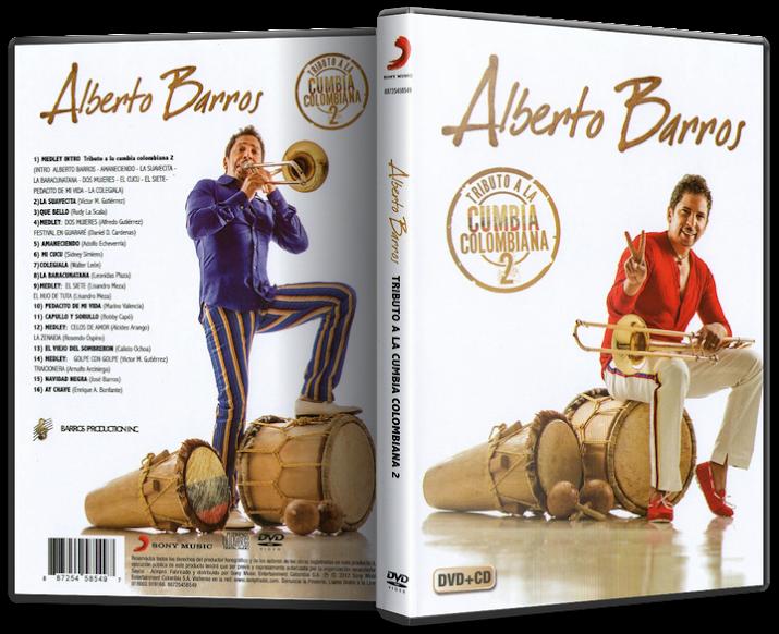 Alberto Barros - Tributo A La Cumbia Colombiana 2 (2012) [MP3 @320 Kbps]