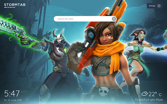 Realm Royale Wallpapers & New Tab