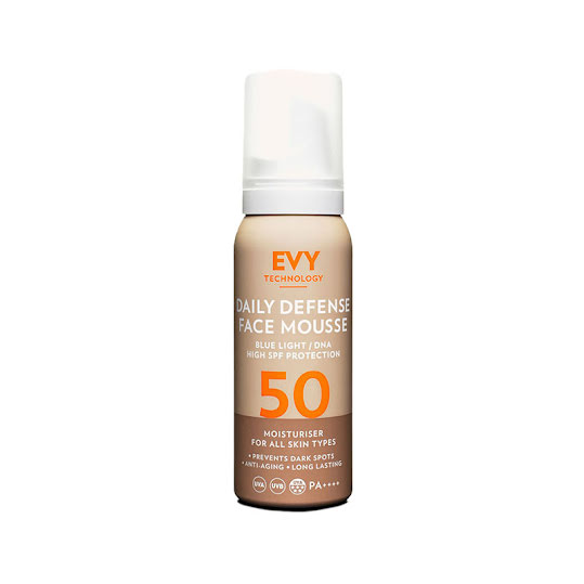EVY Technology Daily Defence Face Mousse SPF50 75 ml
