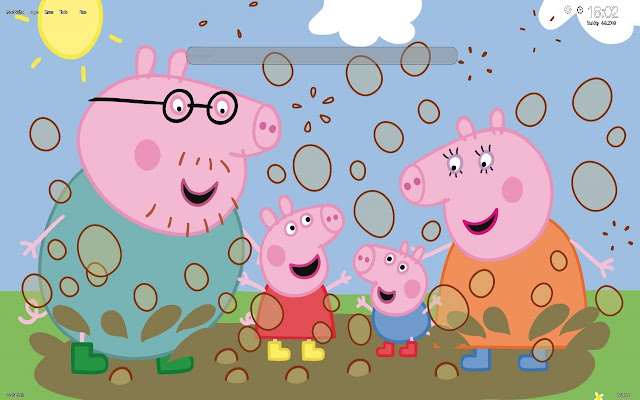 Peppa Pig Wallpapers and New Tab