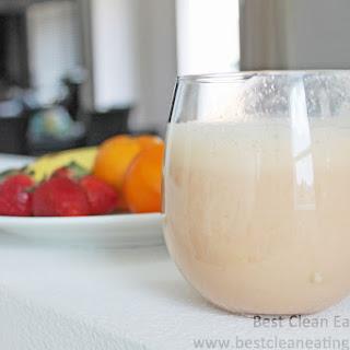 Clean Eating Dessert – Banana Strawberry Orange Smoothie