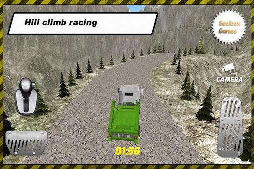 卡車駕駛爬坡