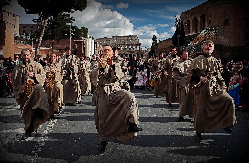 Carnevale ai Fori di romano