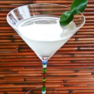 Siam Sapphire Martini.