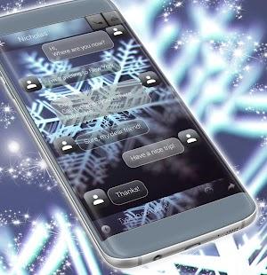 SMS bílá téma - náhled