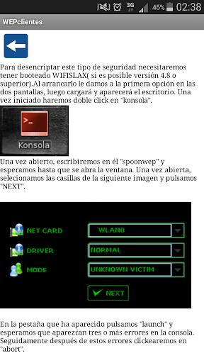 Contraseñas WIFI WPA WEP screenshot 3