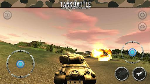 War Tank Battlefield