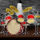 Drum kit ( drums) icon