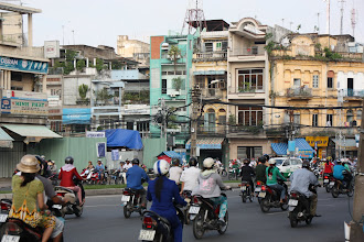 Photo: Year 2 Day 29 - Busy Intersection on the Way Out of Saigon