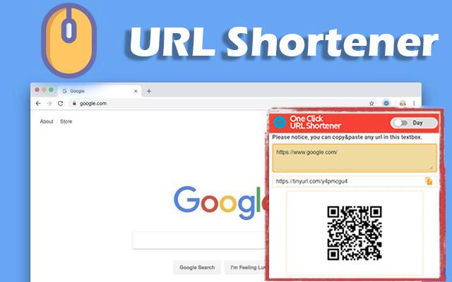 One Click URL Shortener