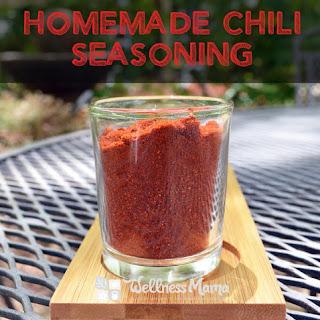 Homemade Chili Seasoning.