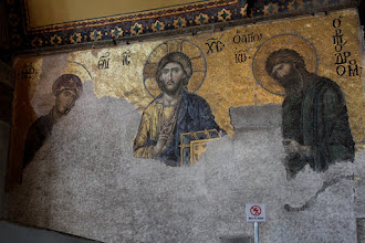 Photo: Day 114 - The Hagia Sophia, One of the Mosaics