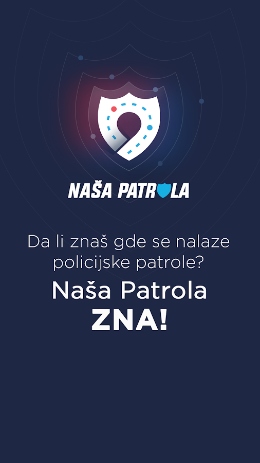 Naša patrola- screenshot