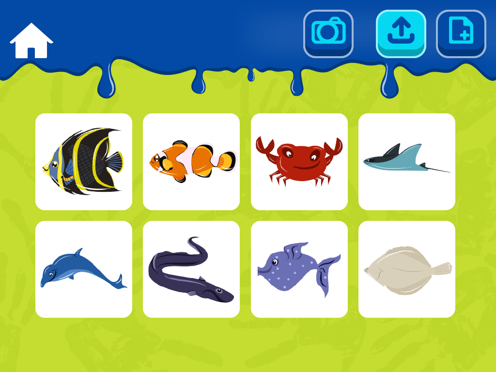kids paint aquatic animals android apps on google play