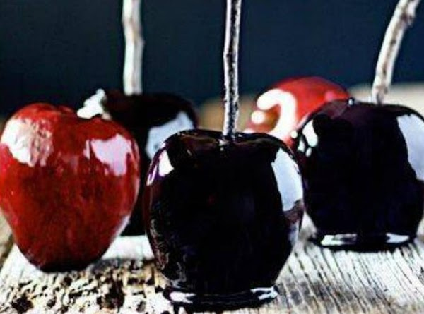 Black Candy Apples Recipe