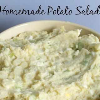 Homemade Potato Salad for a Crowd
