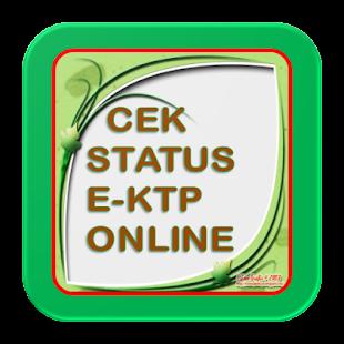 CEK STATUS KTP ONLINE - náhled