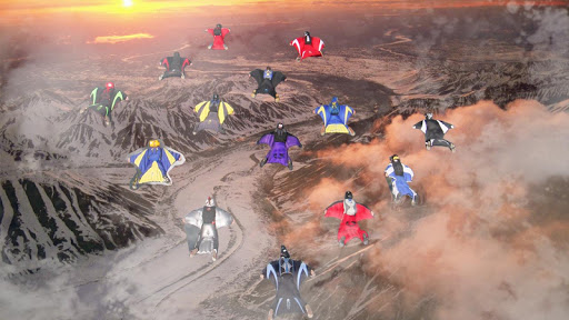 Wingsuit Simulator 3D - Skydiving Game  gameplay | by HackJr.Pw 10