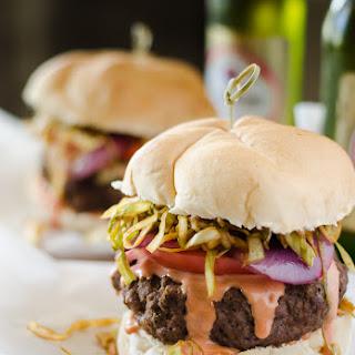 Dominican Chimichurri Burgers #SundaySupper