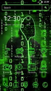 Neon Secret Hacker Launcher Theme Apk Download For Android 5