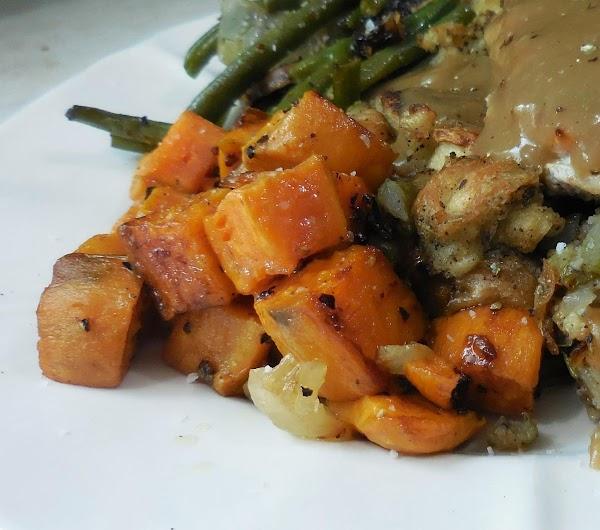 Savory Sweet Potatoes Or Carrots Recipe