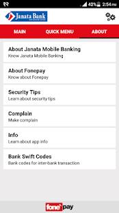 Janata Mobile Banking - náhled