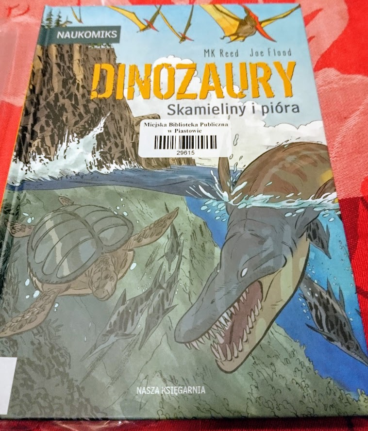 MK Reed, Joe Flood, Dinozaury. Skamieliny i pióra