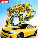 Grand Robot Car Transform 3D Game icon
