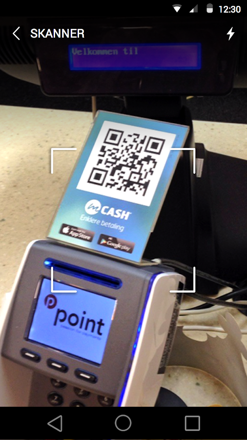 mCASH - the digital wallet- screenshot