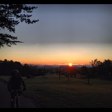 Photo: Don't be afraid to go for a sunset night ride on Lookout Mountain while you are staying at the Stokesville Lodge.