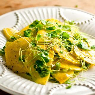 Cress and Golden Beet Salad Recipe