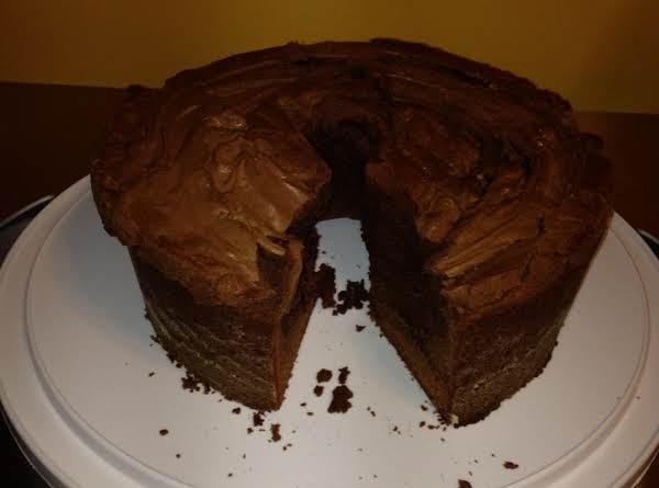Chocolate Cream Cheese Pound Cake