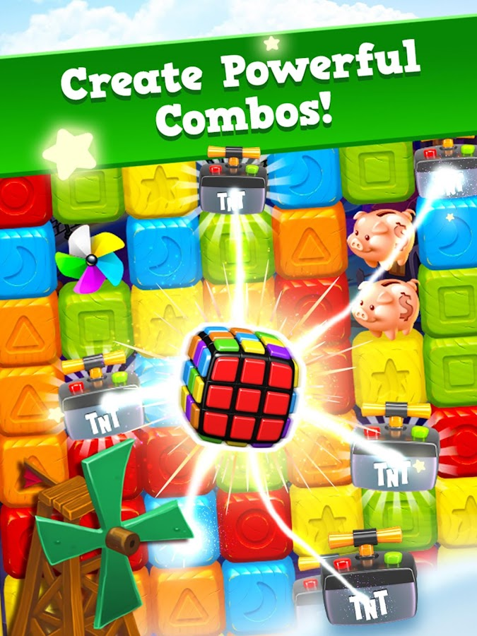 Screenshots of Toy Blast for iPhone