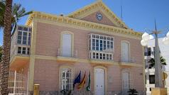 Fachada del Ayuntamiento de Carboneras.