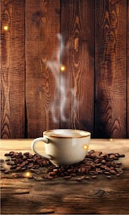 Coffee live wallpaper - náhled