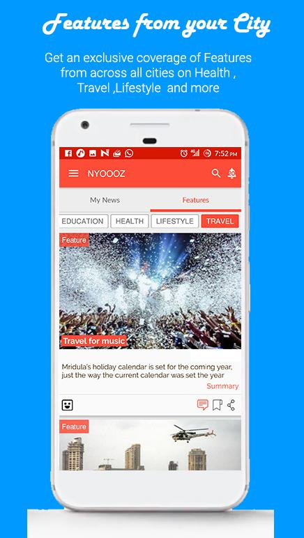 NYOOOZ - Your City Your News- screenshot