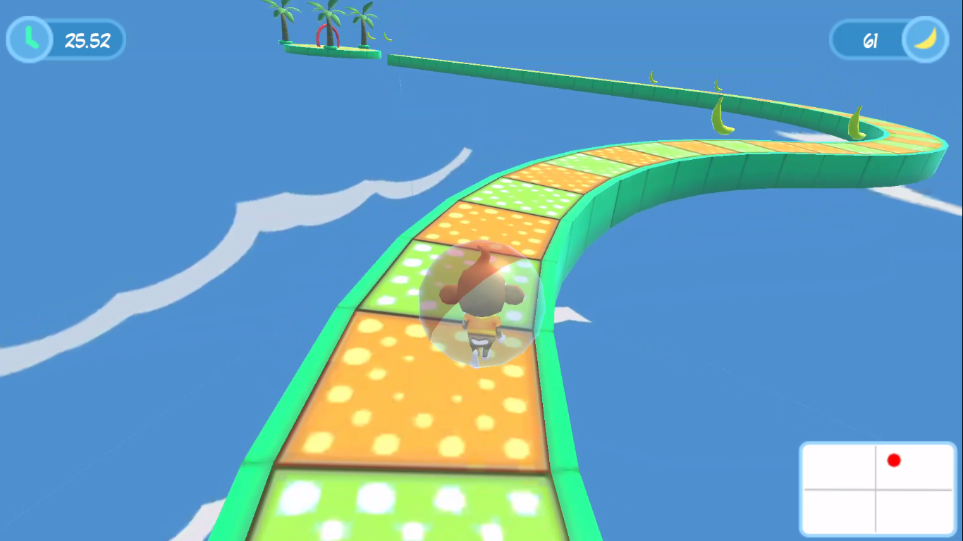 Monkey Balance Ball- screenshot