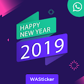 Happy New Year WA Sticker For 2019 Android APK Download Free By Royal Apps Infotech