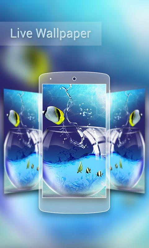 Screenshots Of 3D Wallpaper HD For IPhone