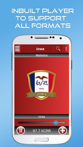 android A2Z Iowa FM Radio Screenshot 0