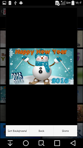 New Year 2016 3d-background